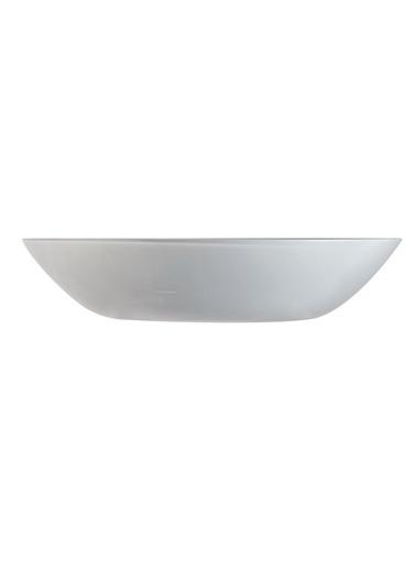 Luminarc Arty Brume Temperli Açık Gri Yemek Tabağı 20 Cm 6'lı Set Gri